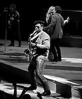 Clarence Clemons through the years.