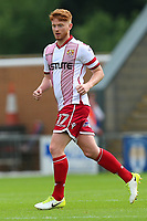Dale Gorman of Stevenage during Colchester United vs Stevenage, Sky Bet EFL League 2 Football at the Weston Homes Community Stadium on 12th August 2017