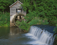 Iowa County, WI<br /> Hyde's Mill on Trout Creek, summer