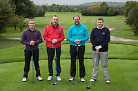 Team G F Tomlinson from left: Craig Stopper, Adrian Hill, Jonathan Miernick and Paul Stockbridge