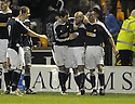 11/02/2008    Copyright Pic: James Stewart.File Name : sct_jspa11_motherwell_v_dundee.PAUL MCHALE (2ND RIGHT) IS CONGRATULATED AFTER HE SCORES DUNDEE'S FIRST.James Stewart Photo Agency 19 Carronlea Drive, Falkirk. FK2 8DN      Vat Reg No. 607 6932 25.Studio      : +44 (0)1324 611191 .Mobile      : +44 (0)7721 416997.E-mail  :  jim@jspa.co.uk.If you require further information then contact Jim Stewart on any of the numbers above........