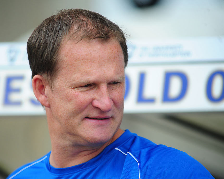 Preston North End manager Simon Grayson <br /> <br /> Photo by Chris Vaughan/CameraSport<br /> <br /> Football - The Football League Sky Bet League 1 - Coventry City v Preston North End - Sunday 25th August 2013 - Sixfields Stadium - Northampton<br /> <br /> &copy; CameraSport - 43 Linden Ave. Countesthorpe. Leicester. England. LE8 5PG - Tel: +44 (0) 116 277 4147 - admin@camerasport.com - www.camerasport.com