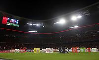 Fussball, BL, 1. Bundesliga, Saison 2018 2019, Herren, Deutschland, 24.08.2018, Saisonerˆffnung, 1. Spieltag, FC Bayern M¸nchen - TSG 1899 Hoffenheim 3-1, v.l. erˆffnugszeremonie vor spiel , Embleme der vereine auf W¸rfel, *** Soccer BL 1 Bundesliga Season 2018 2019 Men Germany 24 08 2018 Season opener 1 matchday FC Bayern Munich TSG 1899 Hoffenheim 3 1 opener ceremony before game Emblems of clubs on dice  <br /> Bundesliga<br /> Foto Imago/Insidefoto <br /> ITALY ONLY