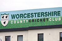 Worcestershire CCC signage during Worcestershire CCC vs Essex CCC, Specsavers County Championship Division 1 Cricket at Blackfinch New Road on 11th May 2018