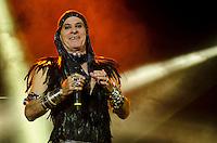 SÃO PAULO,SP, 03.02.2017 - SHOW-SP - O cantor Ney Matogrosso apresenta show da turnê Atento aos Sinais no Espaço das Américas, em São Paulo, na noite desta sexta-feira, 03. (Foto: Bete Marques/Brazil Photo Press)