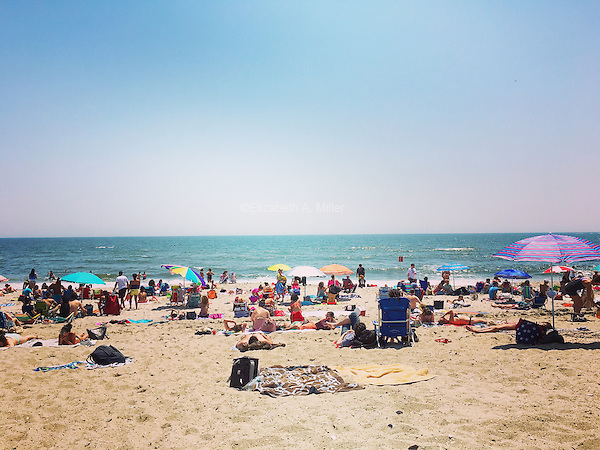 Rockaway Beach in Queens, New York on May 28, 2016.