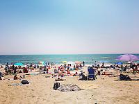 Rockaway Beach in Queens, New York on May 28, 2016.