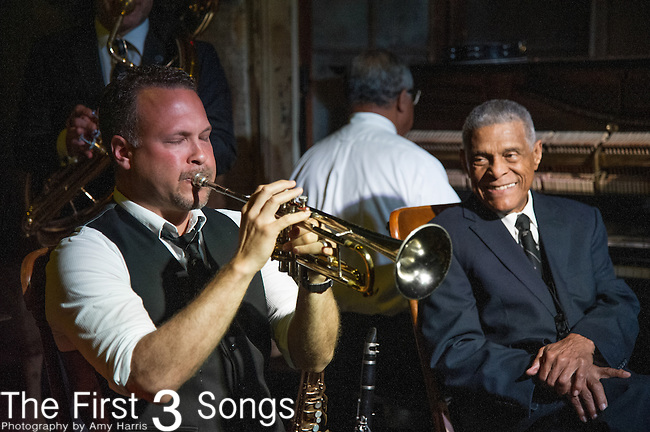 Mark Braud of the Preservation Hall Jazz Band performs at Preservation Hall in New Orleans, LA.