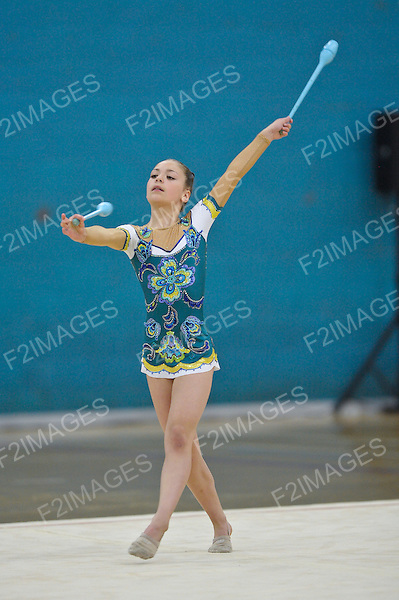 29.06.2012 British Rhythmic Gymnastics Championships from Fenton Manor in Stoke on Trent.