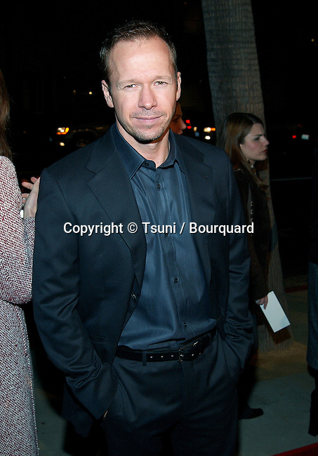 """Donnie Wahlberg arriving at """"The Truth About Charlie"""" premiere at the Academy of Motion Pictures in Los Angeles. October 16, 2002.           -            WahlbergDonnie24.jpg"""