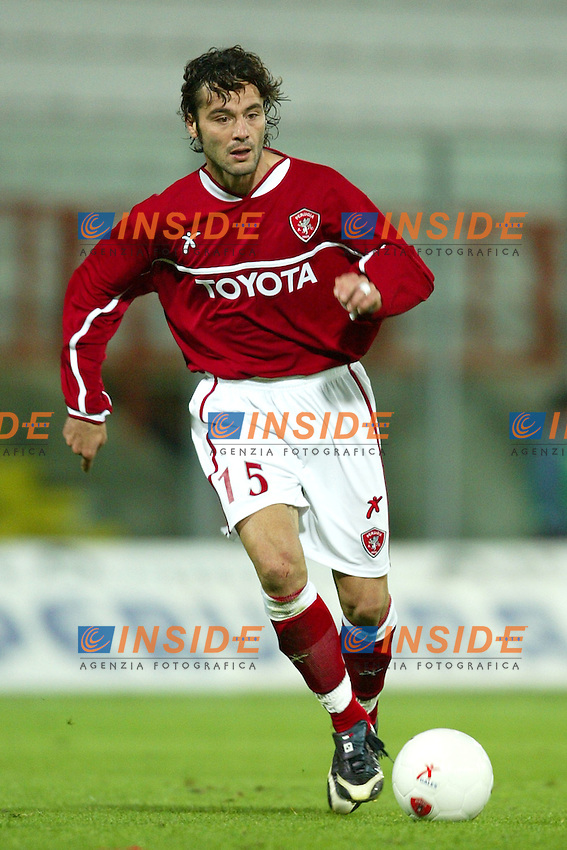 Perugia 15/10/2003 Uefa Cup 1st round return match <br /> Perugia Dundee 1-0 <br /> Zisis VRYZAS  (Perugia)