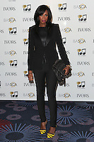 Shaznay Lewis arriving for the 59th Ivor Novello Awards, at the Grosvenor House Hotel, London. 22/05/2014 Picture by: Alexandra Glen / Featureflash