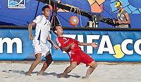 RAVENNA, ITALIA, 10 DE SETEMBRO 2011 - MUNDIAL BEACH SOCCER / EL SALVADOR X RUSSIA -  Shaykov jogador da Russia , durante a partida contra o El Salvador, válida pela semi-final do Mundial de Futebol de Areia no Estádio Del Mare, em Ravenna, na Itália, neste sábado (10).FOTO: VANESSA CARVALHO - NEWS FREE