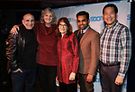 Jonathan Cerullo, Mary Robinson, Pam Berlin, Dev Janki, Darren Lee during The Third Annual SDCF Awards at The The Laurie Beechman Theater on November 12, 2019 in New York City.