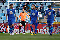 07.04.2012 SPAIN -  La Liga matchday 32th  match played between Getafe vs Sporting at Coliseum Alfonso Perez stadium (2-0). Picture show Juan Pablo Colinas Ferreras