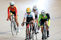 competes in the U15 Boys Point Race  at the Age Group Track National Championships, Avantidrome, Home of Cycling, Cambridge, New Zealand, Thurssday, March 16, 2017. Mandatory Credit: © Dianne Manson/CyclingNZ  **NO ARCHIVING**
