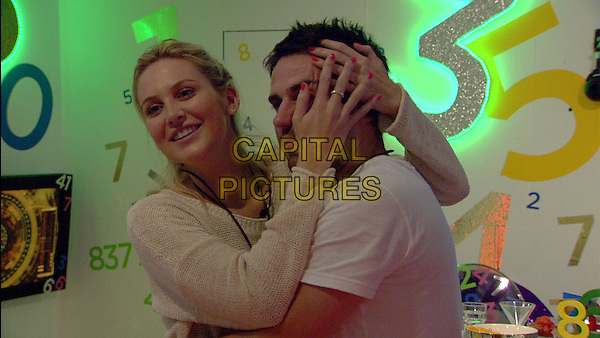 Stephanie Pratt, George Gilbey<br /> in Celebrity Big Brother - Summer 2014 (Day 15)<br /> *Editorial Use Only*<br /> CAP/NFS<br /> Image supplied by Capital Pictures