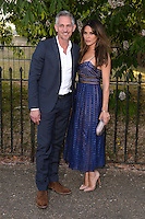 Gary Lineker &amp; Danielle Lineker at The Serpentine Gallery Summer Party 2015 at The Serpentine Gallery, London.<br /> July 2, 2015  London, UK<br /> Picture: Dave Norton / Featureflash