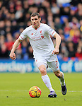 Liverpool's James Milner in action<br /> <br /> - English Premier League - Crystal Palace vs Liverpool  - Selhurst Park - London - England - 6th March 2016 - Pic David Klein/Sportimage