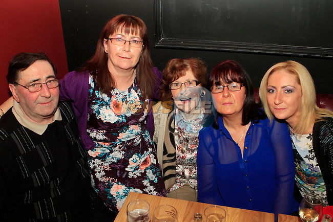 Caroline Broughton celebrates her birthday in Cairnes with her parents Anna and Oliver Garry and sisters Sharon Wynne and Sandra Murray...Photo NEWSFILE/Jenny Matthews..(Photo credit should read Jenny Matthews/NEWSFILE)