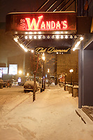 Wanda's strip club in downtown Montreal.<br />