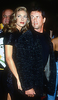 Jennifer Flavin, Sylvester Stallone, 1994, Photo By Michael Ferguson/PHOTOlink