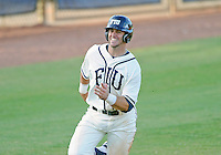 Florida International University infielder Mike Martinez (40) plays against the University of North Florida. FIU won the game 6-4 on March 13, 2012 at Miami, Florida.