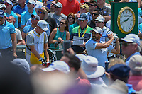 Sergio Garcia (ESP) watches his tee shot on 1 during round 1 of The Players Championship, TPC Sawgrass, at Ponte Vedra, Florida, USA. 5/10/2018.<br /> Picture: Golffile | Ken Murray<br /> <br /> <br /> All photo usage must carry mandatory copyright credit (&copy; Golffile | Ken Murray)