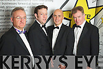 Ed Buckley, David Fitzgerald, David Dillon and John Beatty of Aspen Grove at the Ernst & Young Entrepreneur awards in Citywest Hotel, Dublin on Thursday Night.