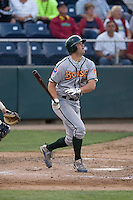 August 4, 2009: Boise Hawks' Robert Wagner at-bat during a Northwest League game against the Everett AquaSox at Everett Memorial Stadium in Everett, Washington.