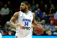 GRONINGEN - Basketbal, Donar - Landstede Zwolle, Martiniplaza, Dutch Basketbal league, seizoen 2018-2019, 02-02-2019, Donar speler Lance Jeter
