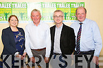 Pictured at the launch of Tralee International Marathon in the Brandon on Monday, from left: Martina Canty (Failte Ireland), Martin Fitzgerald (chairperson Kerry Athletics and Tralee Harriers), Colin Lacey (Editor Kerry's Eye) and John Griffin (Tralee Town Council)..