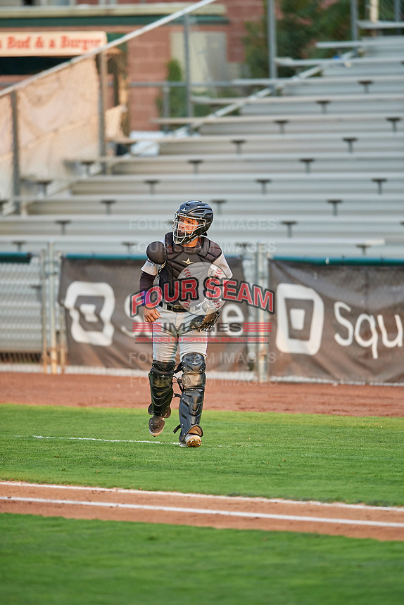 Ronaiker Palma (47) of the Grand Junction Rockies during the game against the Ogden Raptors at Lindquist Field on September 9, 2019 in Ogden, Utah. The Raptors defeated the Rockies 6-5. (Stephen Smith/Four Seam Images)