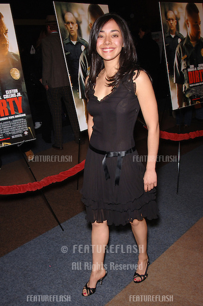 AIMEE GARCIA at the Los Angeles premiere of her new movie Dirty..February 22, 2006 Los Angeles, CA..© 2006 Paul Smith / Featureflash