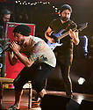 FORT LAUDERDALE, FL - FEBRUARY 11: Vocalist Spencer Sotelo and  Guitarist Jake Bowen of Periphery performs at Revolution Live on February 11, 2020 in Fort Lauderdale, Florida.  ( Photo by Johnny Louis / jlnphotography.com )