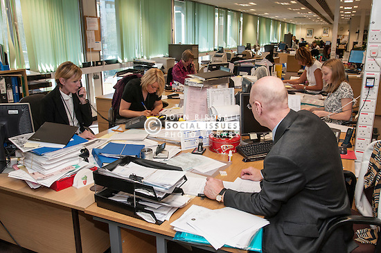 Backroom staff at Sheffield magistrates court