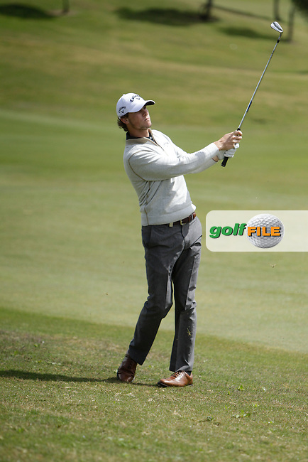 Thomas Pieters (BEL) during Round 1 of the NH Collection Open at the La Reserva de Sotogrande Club de Golf in Cadiz Spain on Thursday 3rd April 2014<br /> Picture:  Thos Caffrey / www.golffile.ie