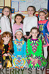 FEIS: Enjoying the St Patricks Day Annual Feis in the Boys School, Listowel, on Sunday were dancers from the Jimmy Hickey School of Dancing. Front l-r: Nikita Murphy, Noelle Curtin and Emma Sexton. Back l-r: Erin and Shauna OShea, Aoife Woulfe and Aine Enright..
