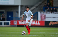 Easah Suliman (Aston Villa) of England U20 during the International friendly match between England U20 and Netherlands U20 at New Bucks Head, Telford, England on 31 August 2017. Photo by Andy Rowland.