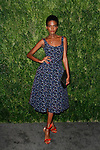 Model Aube Jolicoeur attends the Fifteenth Annual CFDA/Vogue Fashion Fund Awards at the Brooklyn Navy Yard building 28, at 63 Flushing Avenue, on November 5, 2018.
