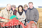 PLOUGHING: Taking a break from the Ardfert Ploughing Competition on Sunday were: l-r: James Driscoll(Ballyheigue),Andy O'Connell(Judge),Laura Moore(Tralee),Willie O'Donovan(Judge) and Garry Dillon (Tralee).   Copyright Kerry's Eye 2008