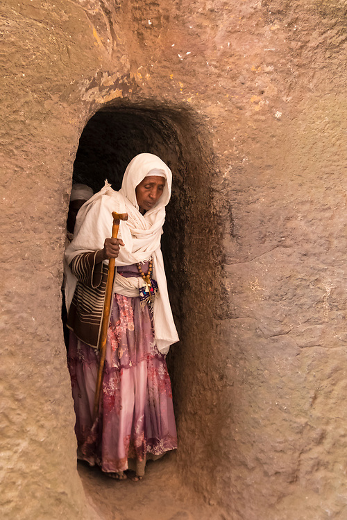 Lalibela's rock-hewn churches are frequently connected to each other by a maze of tunnels and passages.