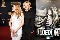 Utrecht, 24 september 2014<br /> Nederlands Film Festival<br /> Openingsavond met premiere van de film Bloedlink<br /> Johanna ter Steege (rechts) met dochter actrice Hanna Obbeek<br /> Foto Felix Kalkman