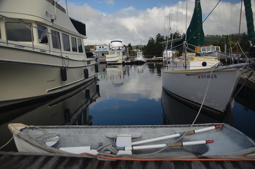 Deer Harbor Marina, Orcas Island, San Juan Islands, Washington, US