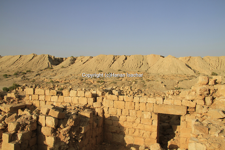 Israel, Tamar stronghold in the Negev