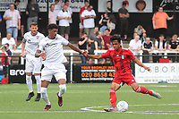 Fabio Carvalho of Fulham in action during Bromley vs Fulham, Friendly Match Football at the H2T Group Stadium on 6th July 2019