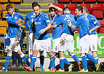 St Johnstone v Aberdeen...23.01.15   SPFL<br /> Simon Lappin celebrates his goal<br /> Picture by Graeme Hart.<br /> Copyright Perthshire Picture Agency<br /> Tel: 01738 623350  Mobile: 07990 594431