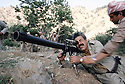 Iraq 1985  <br /> In a base of KDP, in the liberated area, Failak Eddin Kakai  with a RPG<br /> Irak 1985 <br /> Dans une base du PDK, region de Lolan, pendant la lutte arm&eacute;e, Failak Eddin Kakai avec un bazooka