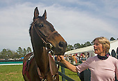 Janet Elliot and Flat Top, Aiken Spring Races 2009.