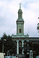 """Sir John Soane: St. Peter Walworth, Liverpool Grove, London 1823-25. """"An astonishing work and the best remaining of Soane's churches in London""""."""